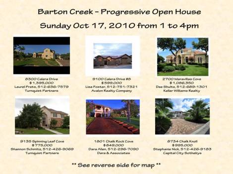 Barton Creek Neighborhood Open House